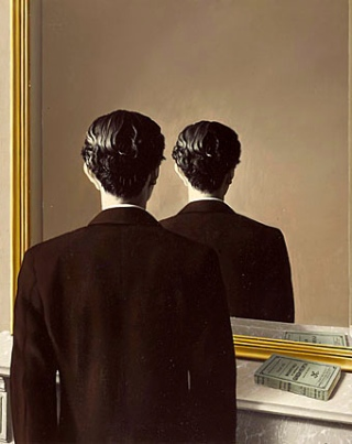 magritte_mirror
